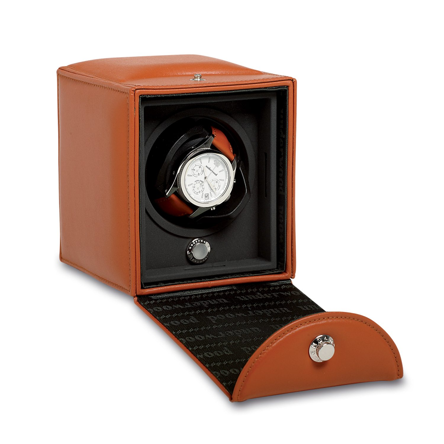 Single-Watch-winder-with-leather-case