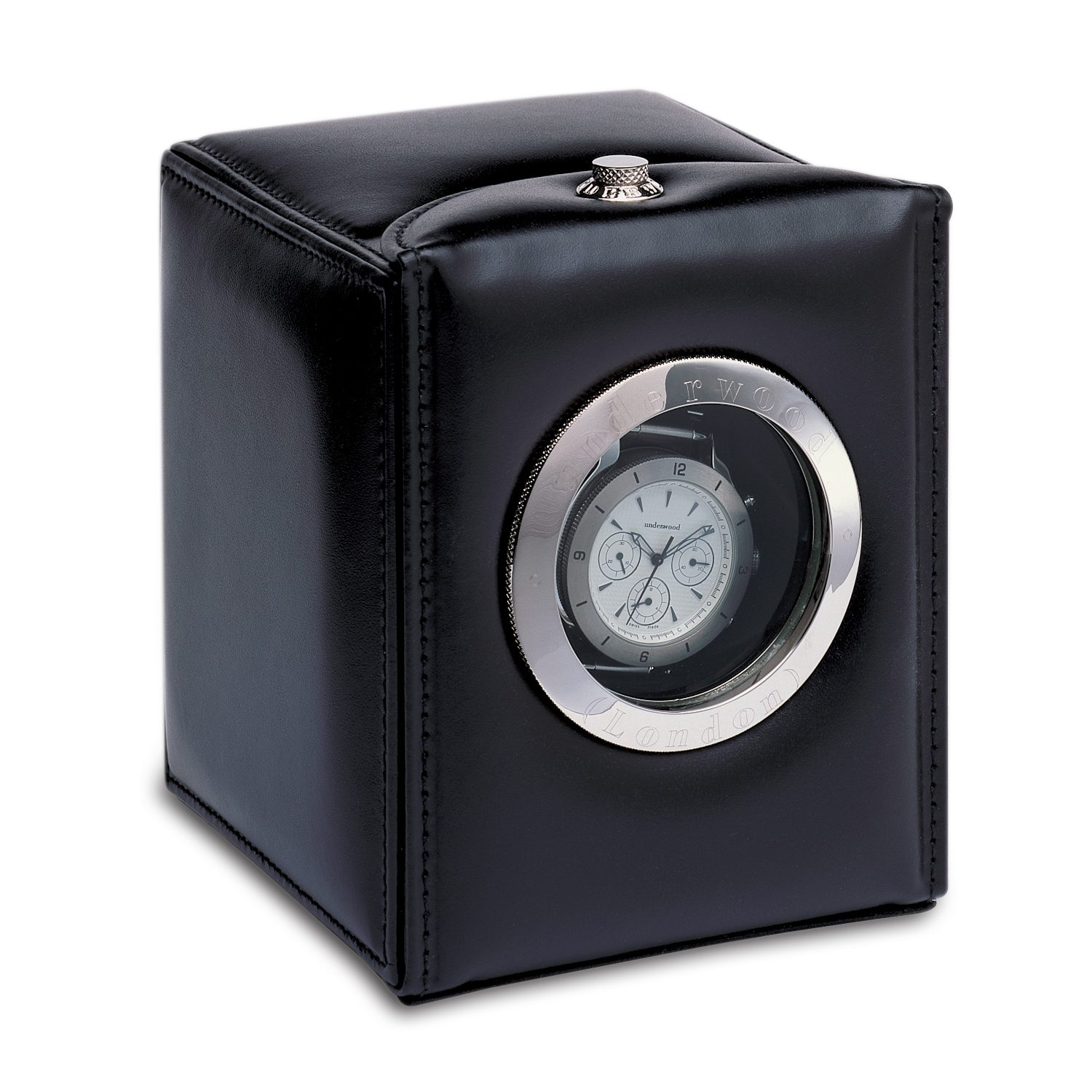Single-watch-winder-with-leather-case-oblo