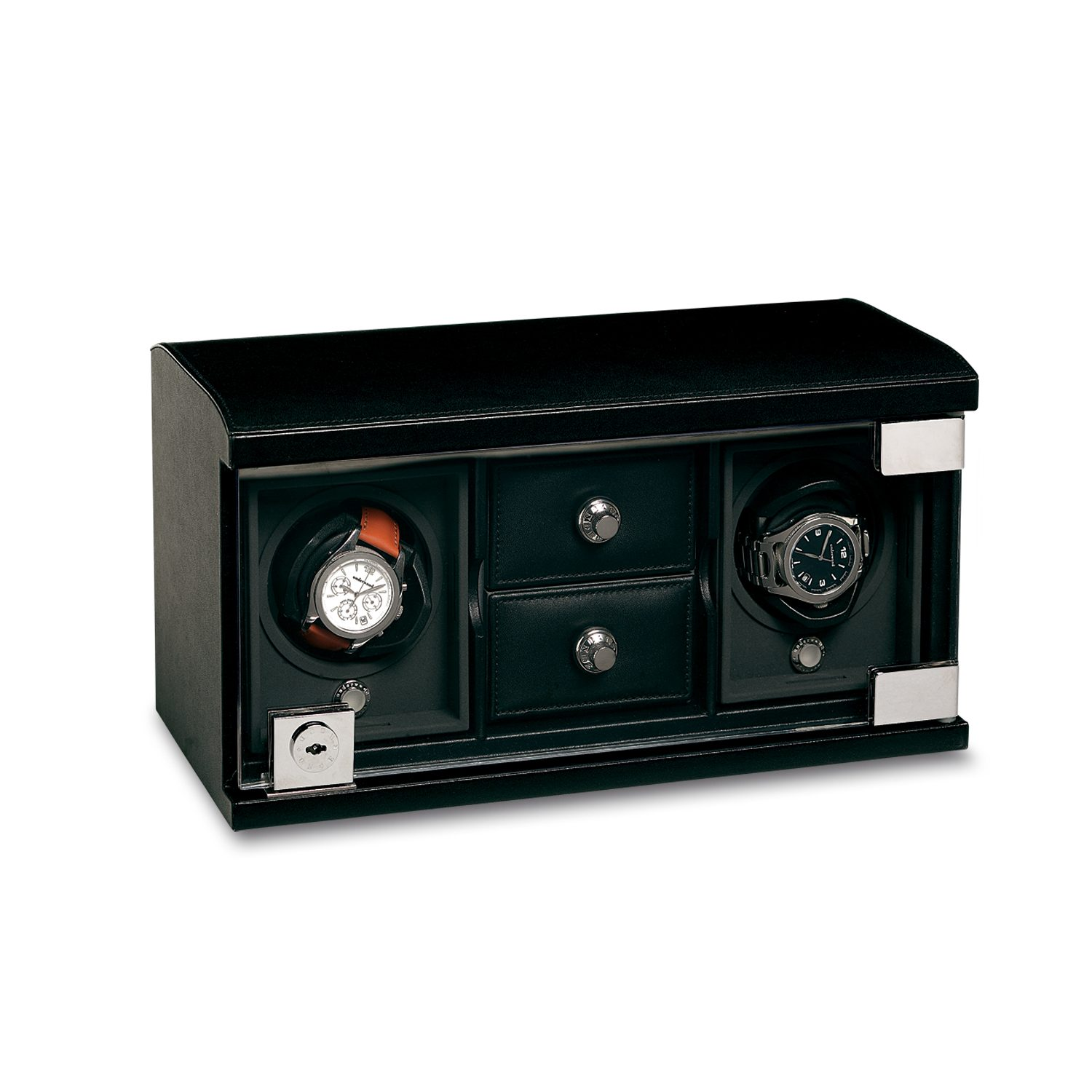 Watch-Winder-for-2-watches-with-trays